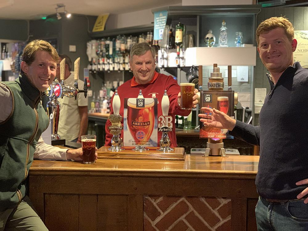 Arkell's Brewery Launches Cask Ale Week at Brewery Tap  with Local CAMRA Chairman