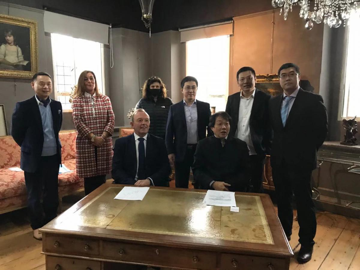 Oxford hotel the venue for signing of major UK-China ecommerce partnership