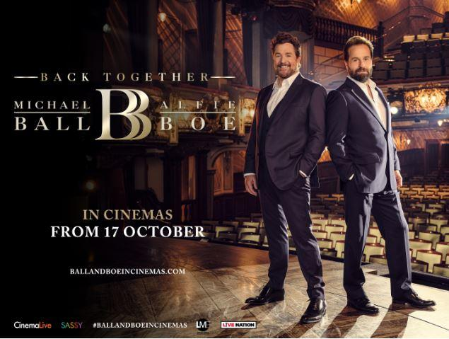 Michael Ball and Alfie Boe 'BACK TOGETHER' on the cinema screen