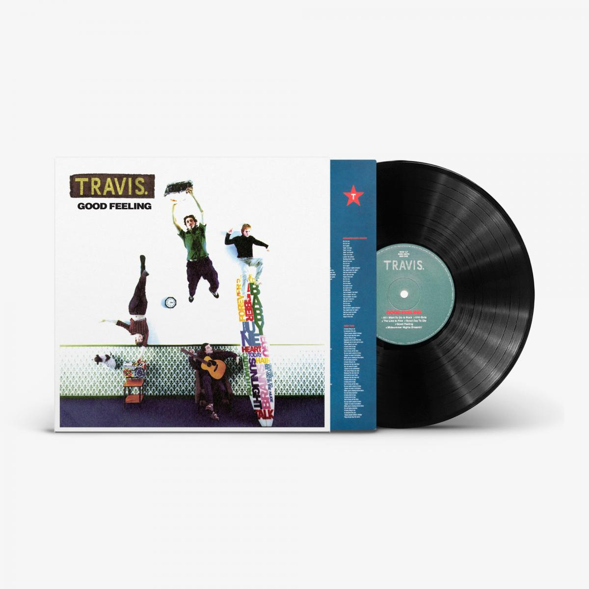 Travis to reissue 1997 debut album 'Good Feeling' on vinyl - April 2nd via Craft Recordings