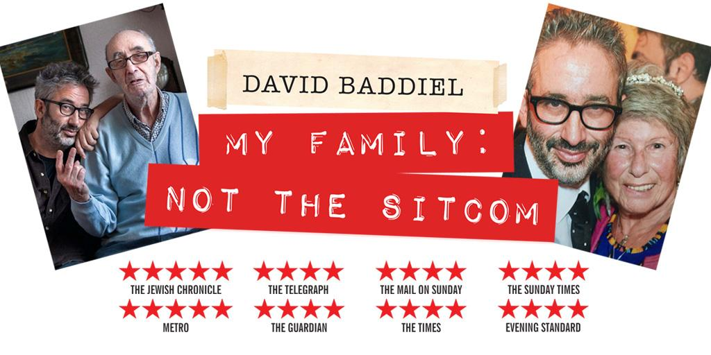David Baddiel's highly acclaimed one man show