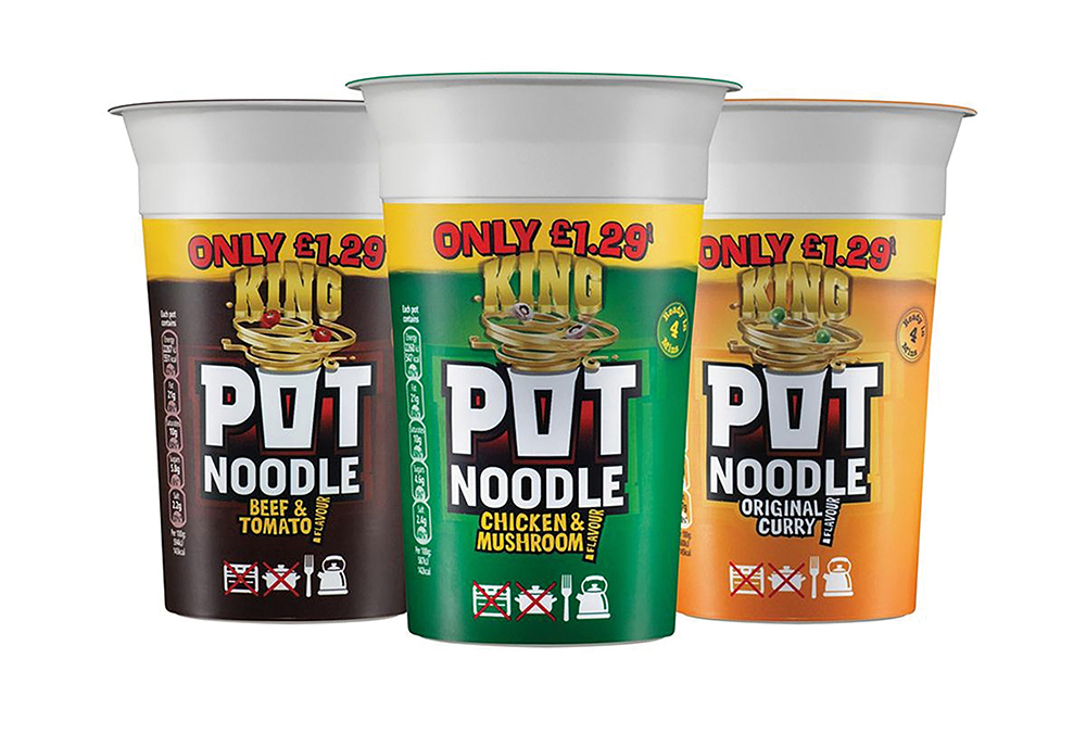 The History of.... Pot Noodle