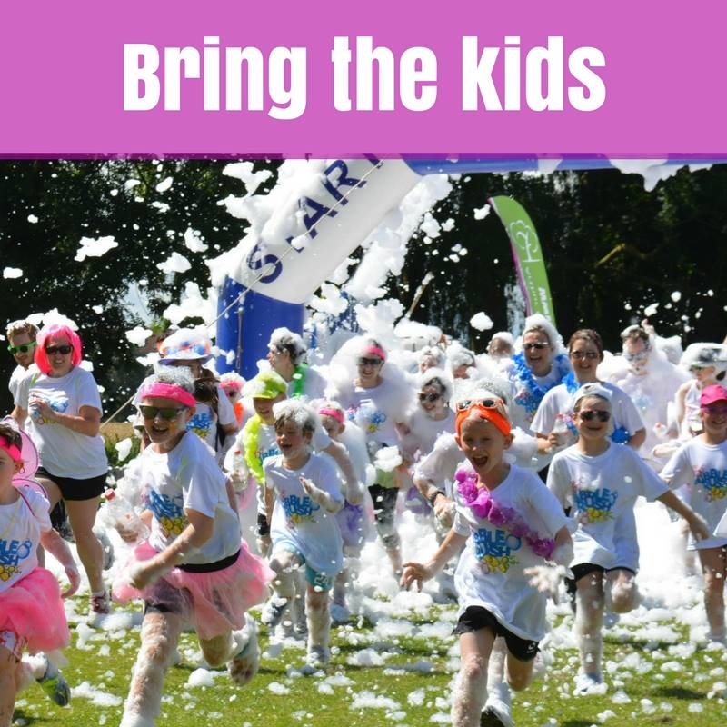 Just one week left to register for the 2017 Salisbury Bubble Rush